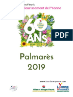 Palmarès 2019