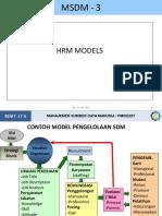 MSDM - HR