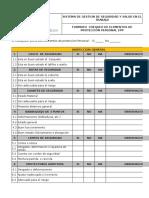 Formato Inspeccion a Epp