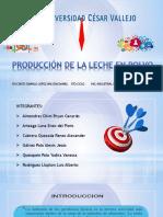 Diapositivas produccion de la leche