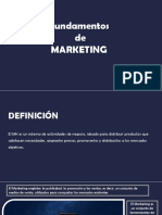 Fundamentos de Marketing W. Stanton Resumen diapositivas