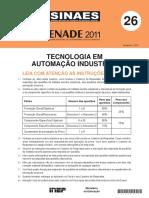 - Provas Enade - Tecnologia_em_automacao_industrial - 2011