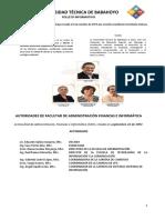 Folleto Informativo FAFI