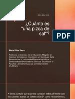 Presentación Maria Silvia Serra