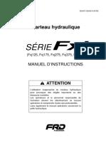Fxj Series Manual de Isntrucciones (Frances)
