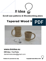 wood mugs