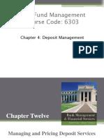 Chapter Deposit Management