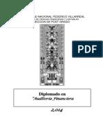 Diplomado en Auditoria Financiera-Analista Financiero II