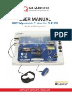 Qnet Myoelectric User Manual