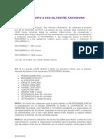 Reglamento San Silvestre 2019