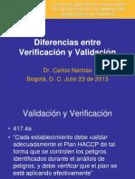 Diferencia Entre Validacion y Verificacion