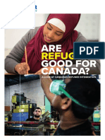 Are Refugees Good for Canada a Look at Canadian Refugee Integration