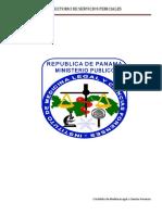 MANUAL DE SERVICIOS PERICIALES PANAMÁ IMELCF