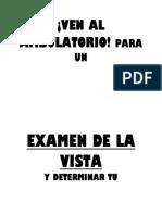 Examen de Vista