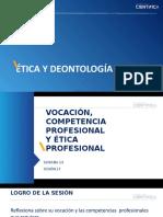 SEMANA 14 - Sesión 27 Vocación y Competencia Profesional