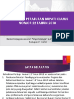 Intisari Perbup 22 Tahun 2018