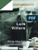Villoro, Luis de la libertad a la comunidad.pdf