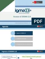 3. Acceso Al SIGMA 2.0