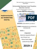Implementacion Del Marketing Digital