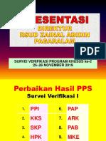 Presentasi Direktur Rsud Zapa 25-26 Nov 2019