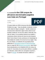 O Mistério Dos 158 Corpos de Africanos Escravizados Jogados Num Lixão Em Portugal