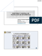 Auditoria Informatica - Sesion 3