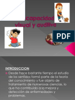 TEMA 2 Discapacidad Visual y Auditiva