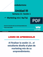 Sesion 11 - Marketing Mix 1