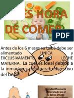 LECCION OCTUBRE-YA ES HORA DE COMER.pptx