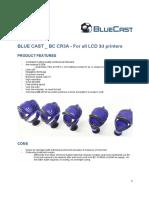 resina Bluecast CR3A