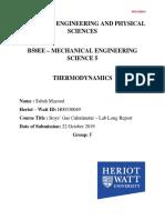 Calorimeter Long Report