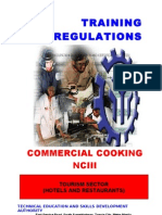 TR Commercial Cooking NC III