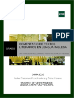 Study guide UNED English