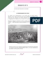 ENSAYOS DE ESCRITURA