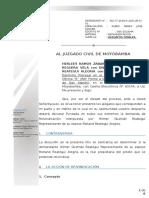 ALEGATOS FINALES │ REIVINDICACIÓN │ PARTE DEMANDANTE