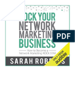[2018] Rock Your Network Marketing Business by Sarah Robbins | How to Become a Network Marketing Rock Star | Rockin' Robbins Publishing