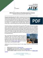 Alaska Symphony of Seafood press release