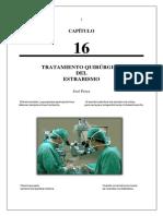tratamiento quirúrgico de estrabismo