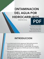 Contaminacion Del Agua Por Hidrocarburos