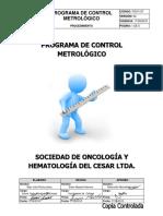 Pso1107 Programa de Control Metrologico