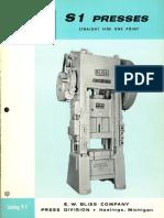 Bliss Straightside Press Catalog Vintage
