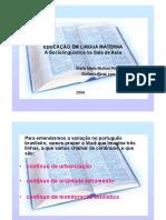 Educação em Língua Materna