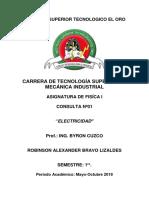 Formato Para Consultas Teóricas e Informes de Proyectos 2019