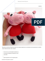Amigurumi Today Peppa Pig.pt.Es