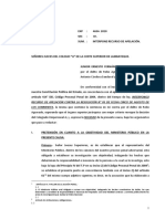 Junior Fernandez Apelación