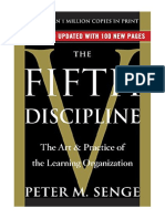 [2006] The Fifth Discipline by Peter M. Senge | The Art & Practice of The Learning Organization | Doubleday