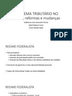 16 - O Sistema Tributario No Brasil Reformas e Mudanças