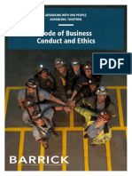 Barrick Code of Business Conduct and Ethics