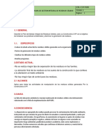 Programa de Gestion Integral de Residuos Solidos