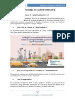 Estandares de Calidad Ambiental (ECA)